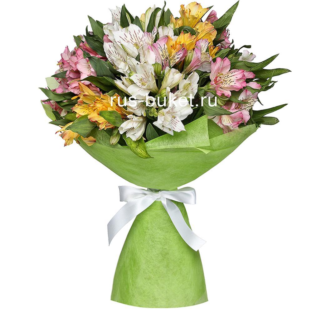 Букет цветов в питере заказть подарок шефу-женщине на новый год