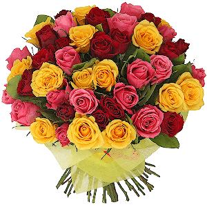"""цветы ко дню матери Букет """"Кенийская красавица"""""""