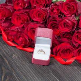 Цветы на помолвку